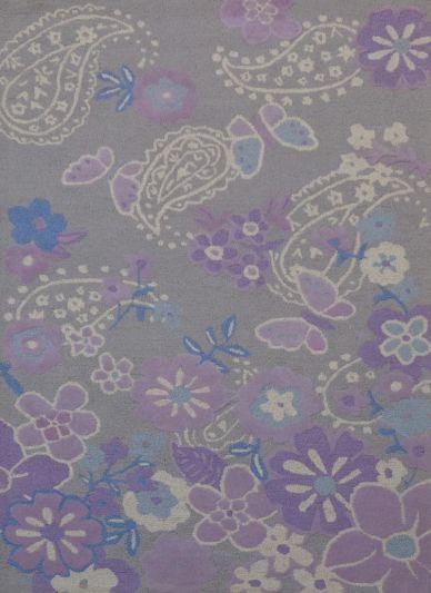 Carpet mantra Purple Kids carpet 5ft x 8ft