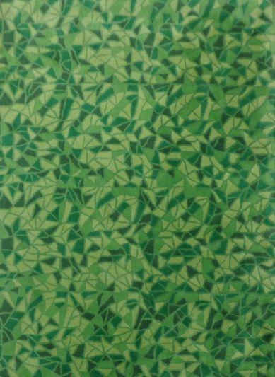 Carpet Mantra Green Floral carpet 5ft x 8ft