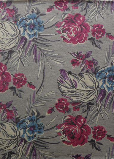Carpet Mantra Multi floral Carpet 4.6ft x 6.6ft