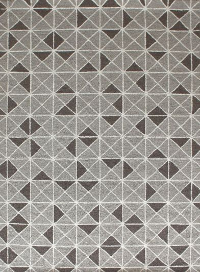 Carpet Mantra Grey Modern Carpet 5.3ft x 7.8ft