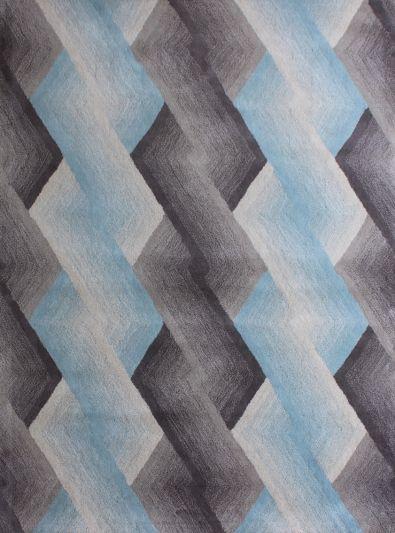 Carpet Mantra Multi Modern Carpet 4.6ft x 6.6ft