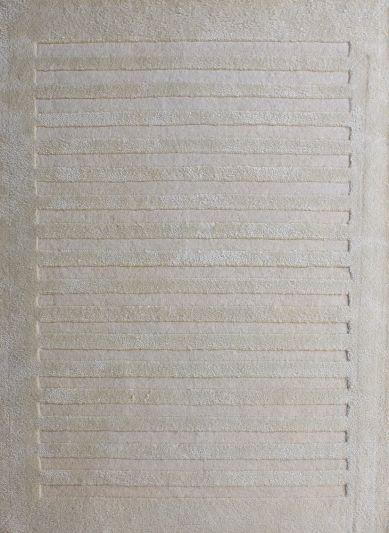 Carpet Mantra White Modern Carpet 4.6ft x 6.6ft