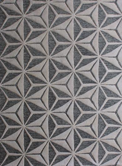 Carpet Mantra Dk. Grey Modern Carpet 4.6ft x 6.6ft