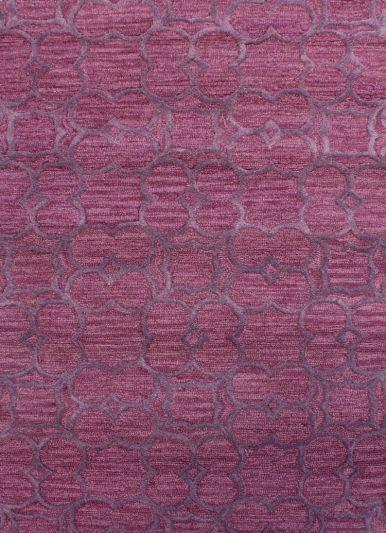 Carpetmantra Purple Modern Carpet 3.5ft X 5.5ft