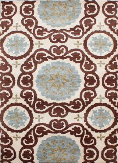 Carpetmantra Multi Modern Carpet 3.6ft X 5.6ft