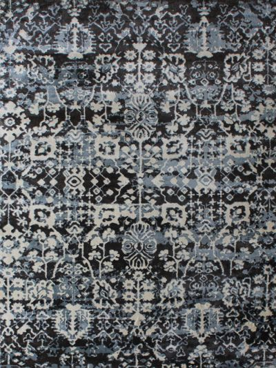 Carpetmantra Multi Abstract Carpet 5.4ft X 7.8ft