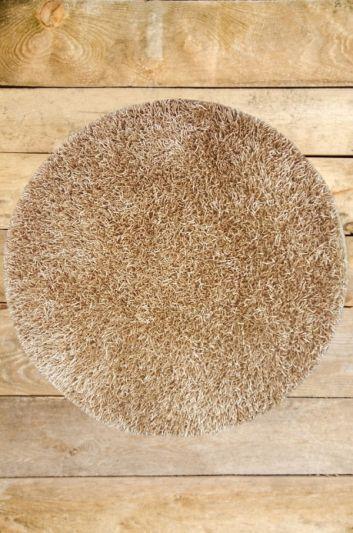 Carpetmantra stick Creme Round shaggy