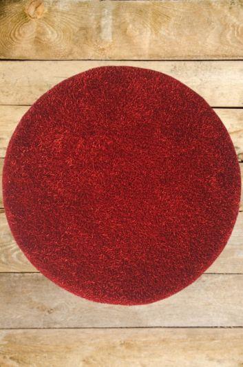 Carpetmantra stick Red Round shaggy