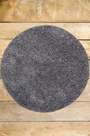 Carpetmantra stick Grey Round shaggy