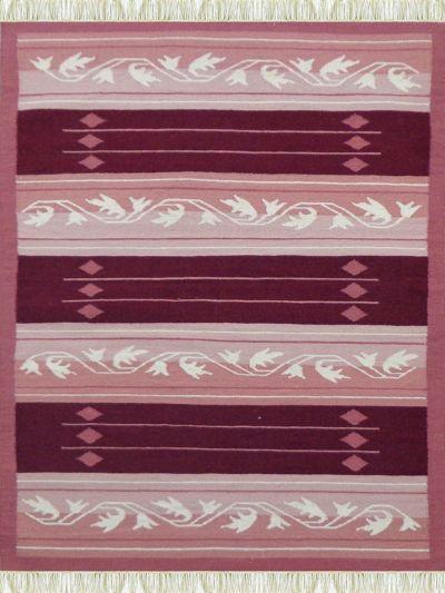 Carpetmantra Flatweave Durrie Carpet 4.6ft x 6.6ft