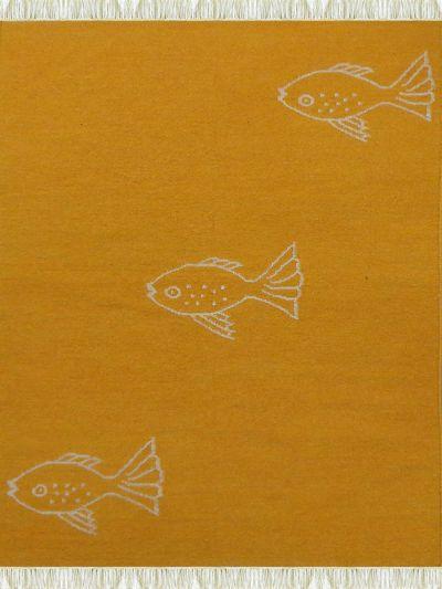 Carpetmantra Flatweave Durrie Carpet 4ft x 6ft