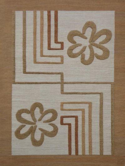 Carpetmantra Flatweave Durrie Carpet 5.7ft x 7.10ft