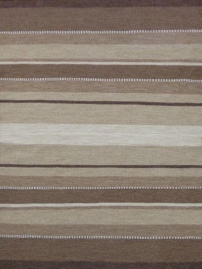 Carpetmantra Beige Flatweave Durrie Carpet 5ft x 8ft
