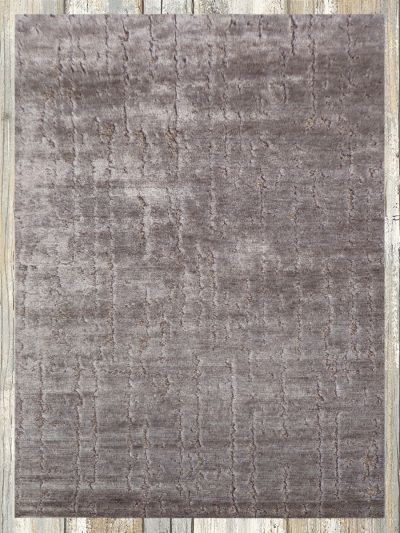 Hand Knotted Bamboo Silk Carpet 5.5ft X 7.10ft