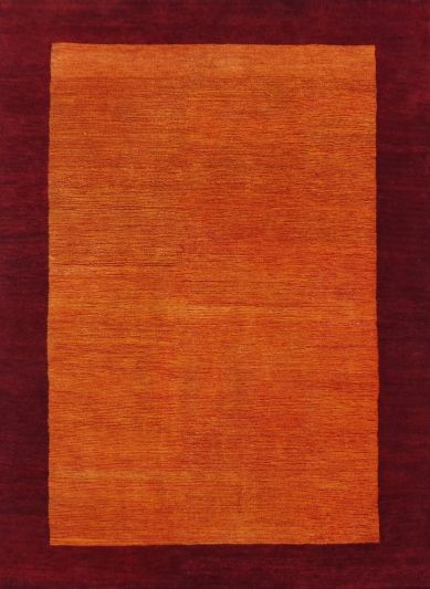 Carpetmantra Hand Knotted Gabbeh Carpet 4 ft X 6ft