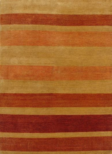 Carpetmantra Hand Knotted Gabbeh Carpet 4.0ft X 5.8ft