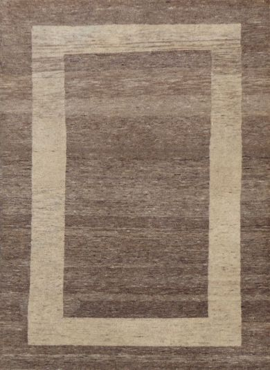 Carpetmantra Hand Knotted Gabbeh Carpet 3ft X 5ft