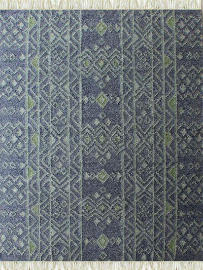 Carpetmantra Flatweave Durrie Carpet 5.1ft x 7.10ft
