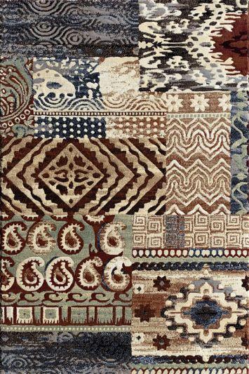 Carpetmantra  Designer multi Carpet 2.8ft X 4.11ft