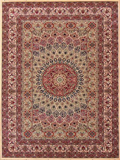 Carpetmantra Persian Traditional Beige Carpet