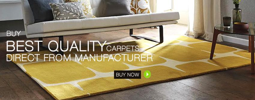 Buy Carpets For Living Room Online: The Materials, Size And Color