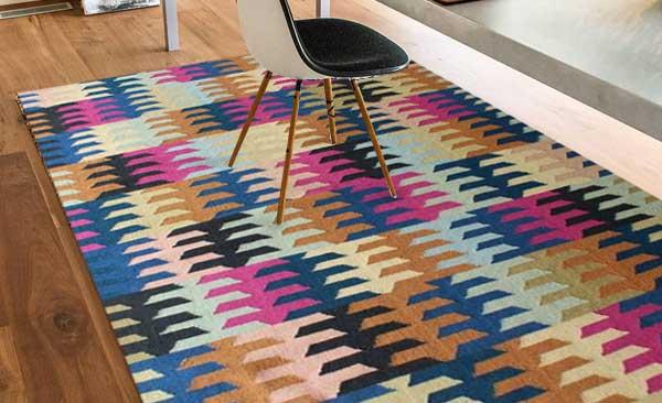 Flatweave Durrie Rugs by Carpet Mantra